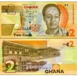 Ghana 2013 2 Cedis P37A UNC