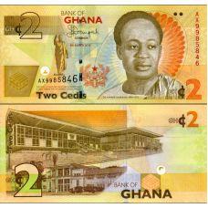 Ghana 2013 2 Cedis P37Ab UNC