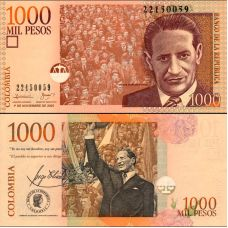 Kolumbia 2005 1000 Pesos P456