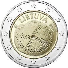 Liettua 2016 2 € Baltian kulttuuri UNC