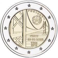 Portugali 2016 2 € Huhtikuun 25. päivän silta 50v UNC
