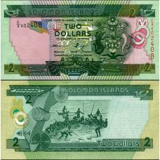 Salomonsaaret 2013 2 Dollars P25b UNC