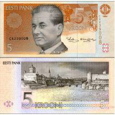 Viro 1994 5 Krooni P76 UNC