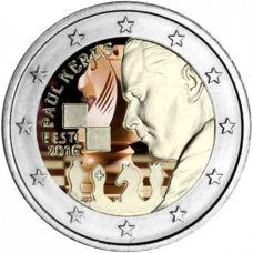 Viro 2016 2 € Paul Keres VÄRITETTY