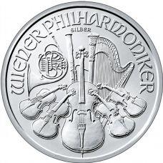 Itävalta 2014 1,50 € Wiener Philarmoniker 1 Unssi HOPEA BU