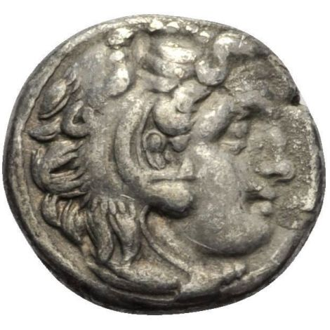 Kreikka Makedonia 329-319 Drachme VF HOPEA