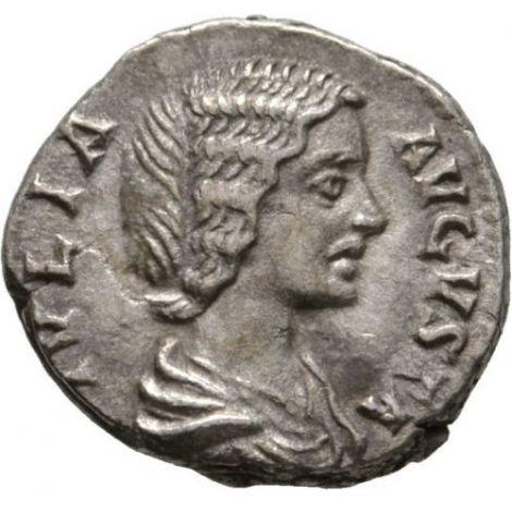 Rooman valtakunta 193-217 AD Denarius VF HOPEA