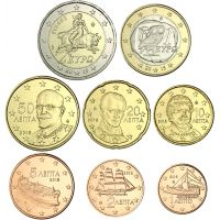 Kreikka 2019 1 c - 2 € Irtokolikot UNC