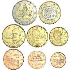 Kreikka 2015 1 c - 2 € Irtokolikot UNC