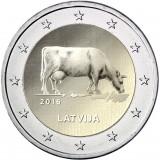 Latvia 2016 2 € Maatalousala UNC