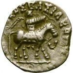 Intialais-skyytit 35 eKr - 5 jKr Azes II Drachma HOPEA