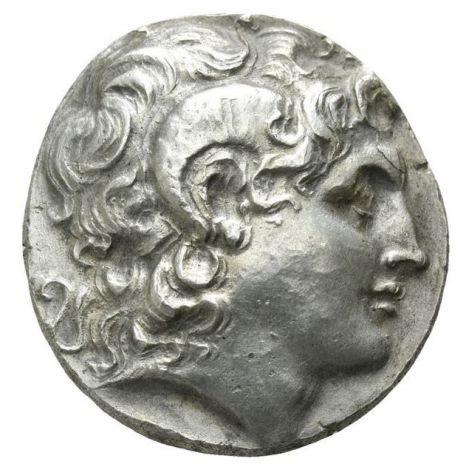Kreikka 305-281 BC Lysimachos Tetradrachm HOPEA