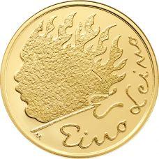 Suomi 2016 100 € Eino Leino KULTA PROOF