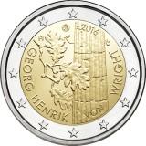 Suomi 2016 2 € Georg Henrik von Wright UNC