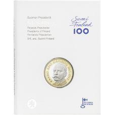 Suomi 2016 5 € Suomen presidentit - K.J. Ståhlberg PROOF