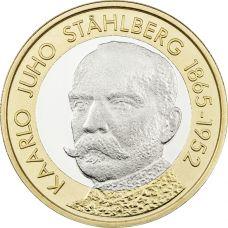 Suomi 2016 5 € Suomen presidentit - K.J. Ståhlberg UNC