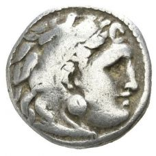 Alexander The Great Drachm Herakles Hercules HOPEA