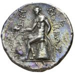Antiochos Tetradrachm Apollo Poetry