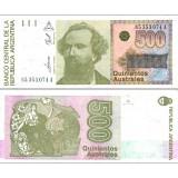 Argentiina 1990 500 Australes P328 UNC