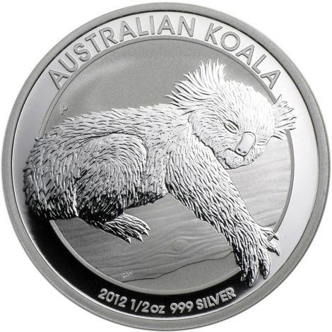Australia 2012 50 Cents Australian Koala 1/2 Unssi HOPEA