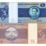 Brasilia 5 Cruzeiros P192 UNC