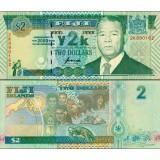 Fidži 2000 2 Dollars P102 UNC