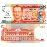 Filippiinit 2009 20 Pesos P198 60th Central Bank UNC
