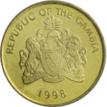Gambia 1998 1-25 Butut UNC