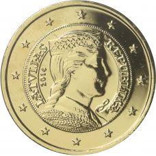 Latvia 2014 2 € KULLATTU