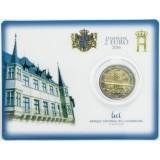 Luxemburg 2016 2 € Suurherttuatar Charlotte -sillan 50. vuotispäivä COINCARD