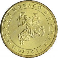 Monaco 2003 50 c UNC
