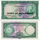 Mosambik 1961 100 Escudos P117 UNC