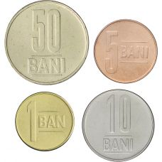 Romania 2015 1-50 Bani UNC