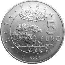 San Marino 2008 5 € HOPEA UNC