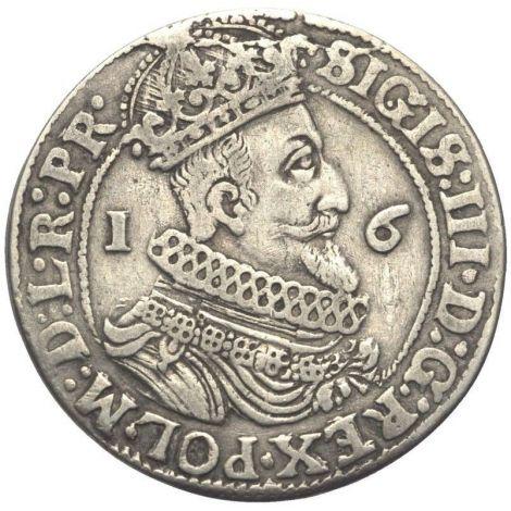 Puola 1623 Danzig Sigismund III HOPEA