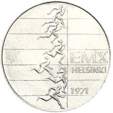 Suomi 1971 10 Markkaa Yleisurheilun EM-kisat BU