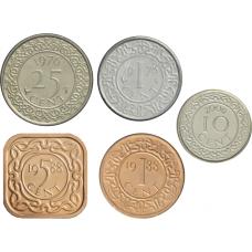 Suriname 1-25 cents UNC