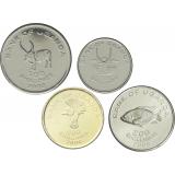 Uganda 50-500 Shillings UNC