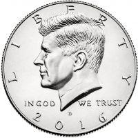 "USA 2017 $0,50 Kennedy ""P"" UNC"