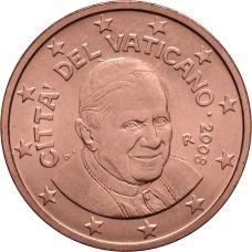 Vatikaani 2008 2 c UNC