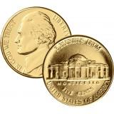 USA 2001 0,05 Jefferson - Return to Monticello KULLATTU
