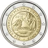 Andorra 2015 2 € Täysi-ikäisyys BU