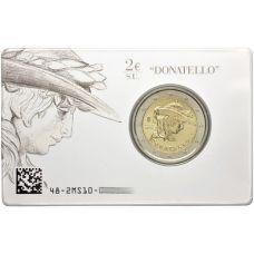 Italia 2016 2 € Donatellon kuoleman 550. vuosipäivä COINCARD