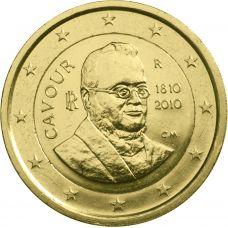 Italia 2010 2 € Cavour KULLATTU