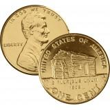 USA 2009 $0,01 Lincoln Bicentennial - Birth and Early Childhood in Kentucky KULLATTU