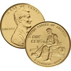 USA 2009 $0,01 Lincoln Bicentennial - Formative Years in Indiana KULLATTU