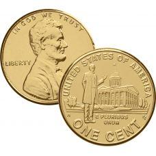 USA 2009 $0,01 Lincoln Bicentennial - Professional Life in Illinois KULLATTU