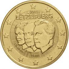 Luxemburg 2011 2 € Henri & Jean KULLATTU
