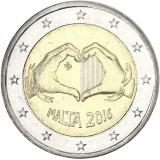 Malta 2016 2 € Rakkaus UNC