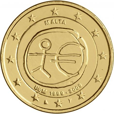 Malta 2009 2 € EMU KULLATTU
